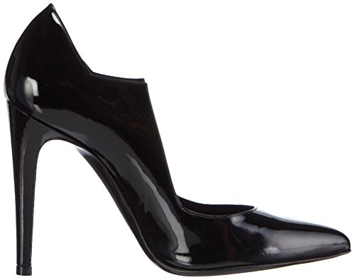 CHARLINE DE LUCA Hexa, Chaussures à Talons-avant du Pieds Couvert Femme Noir - Noir