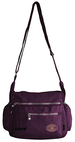 GFM Fashion, Borsa a tracolla donna Small Style 1 - Black (KL0)