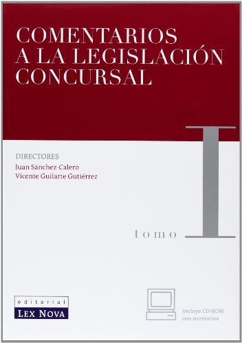 Comentarios a la legislación concursal