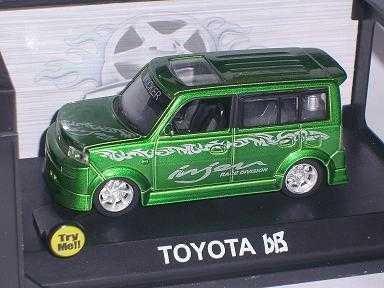 Toyota Scion Bb GrÜn Tuning Licht Sound 1/43 Modellcarsonline Modellauto Modell Auto