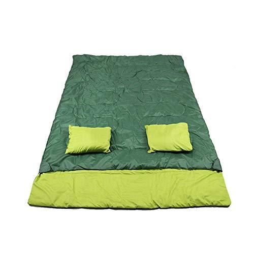 Zwy durable,breathable,comfortabledoppio sacco a pelo, caldo inverno campeggio sacchi a pelo impermeabili leggeri busta dormire adulti vuoto cotone sacca dormire