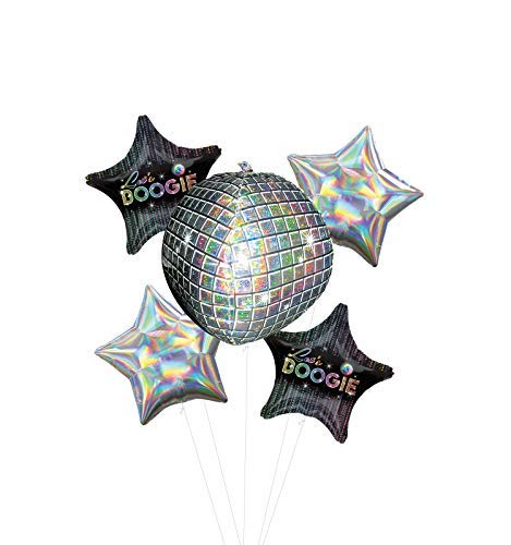 Let's Boogie 70's Disco Dance Balloons Bouquet.