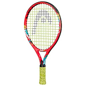 HEAD Unisex-Youth Novak 17 Tennis Racket, Orange/Teal, One Size