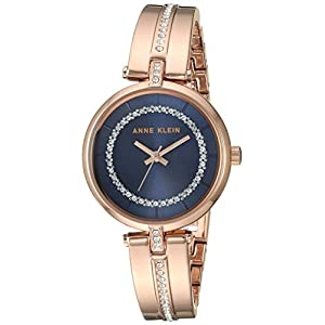 Anne Klein Reloj de Pulsera para Mujer con Cristales Swarovski