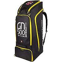 Gray-Nicolls GN500 - Bolsa de Deporte, Color Negro y Amarillo
