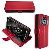 caseroxx Hülle/Tasche Bookstyle-Case Ulefone Power 5 / Power 5s Handy-Tasche, Wallet-Case Klapptasche in rot