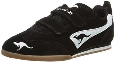 KangaROOS Tach Low V 1390A Unisex-Kinder Sneaker, Schwarz (black/white 500), EU 30