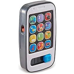Fisher-Price Mi primer teléfono descubrimiento, juguete bebé +6 meses (Mattel BHB92)