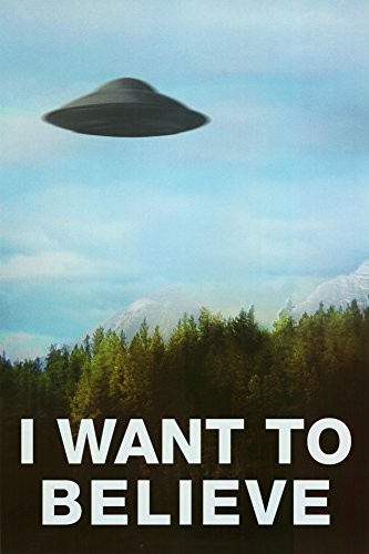 The X-Files I Want To Believe TV 24inx36in poster grande.