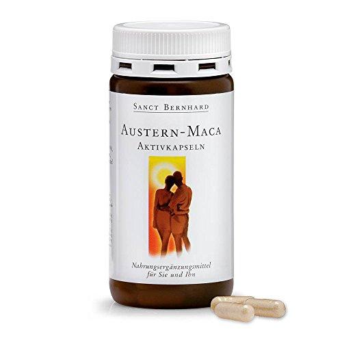 Sanct Bernhard Austern-Maca-Aktivkapseln mit Gelee-Royal, Zink, Vitamin E, Maca-Wurzel 120 Kapseln
