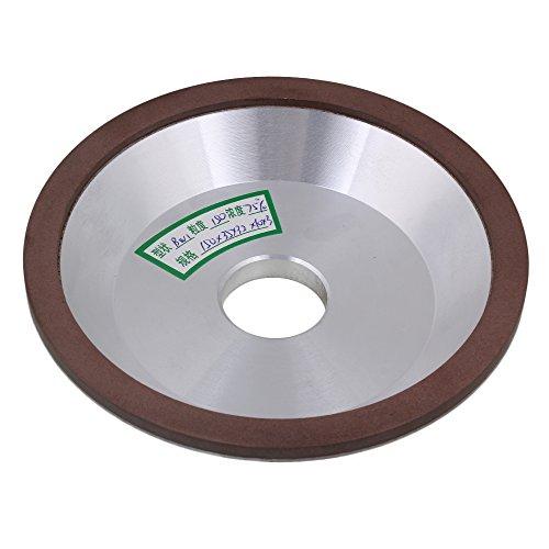 150mm AD Silber Braun Diamant Aluminium Harz Tasse Schüssel Form Schleifscheibe Körnung 150# Abrasives schneider Grinder Diamant Breite 10mm für Snagging Schneiden -