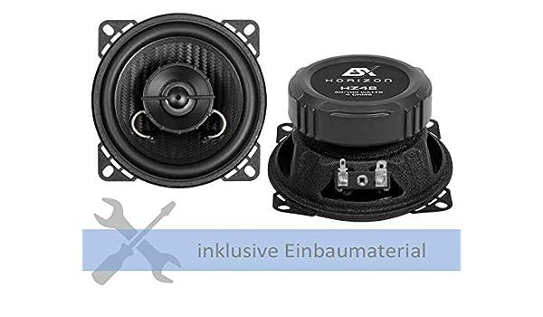 Esx Lautsprecher Hz42 200w 100 Mm 2 Wege Koax Für Bmw Elektronik