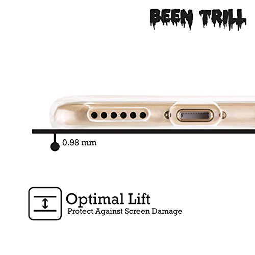 Official Been Trill Hoodies Gold Bling Blings Soft Gel Case for Apple iPhone X Knuckles Silver