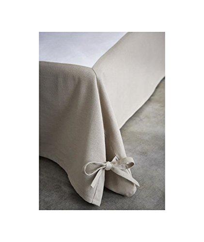 Today Bettvolant 576334 aus Baumwolle/Vlies/Polypropylen, Baumwolle, Mastic, 160 x 200 cm