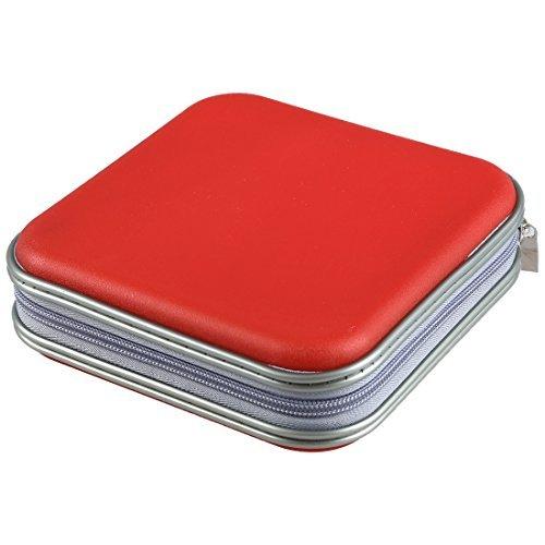 TOOGOO(R) Bunt Aufbewahrungskoffer mit 40 Stuecke fuer DVD / CD Disc Mitnehmbar Etui Tasche (Farbe: zufaellig gesendet)