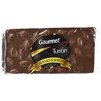 Gourmet Turrón De Chocolate Leche Con Almendras - 200 g
