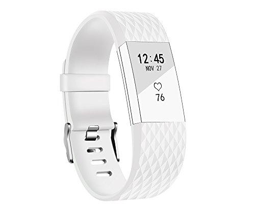 Ersatz Fitbit Charge 2 Armbänd, BeneStellar Ersatz Spezielle 3D Texturen Armband für Fitbit Charge 2