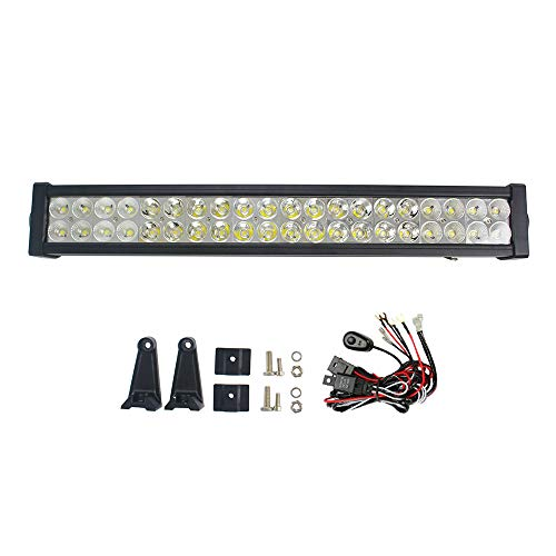 "24\""120W LED Arbeitsscheinwerfer Scheinwerfer Flutlicht Offroad 12V 24V für SUV LED Light Bar for Auto ATV UTE Ford Jeep Boat Deck Lamp"