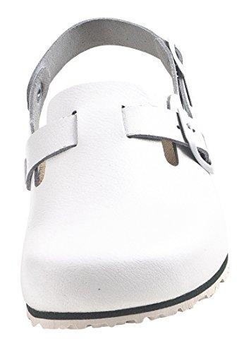 Dr. Brinkmann 603070 Unisex-Erwachsene Clogs Weiß