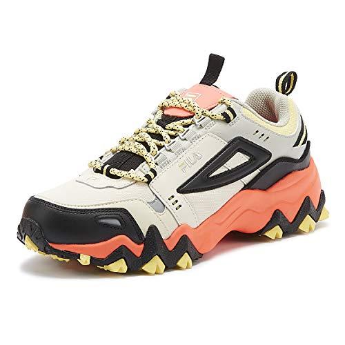 Fila Oakmont Trail Mujer Gardenia/Negro Zapatillas-UK 6 / EU 39.5