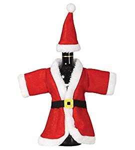 GUIRMA Disfraz de abridor de Botellas de Navidad Santa Claus 40 cm