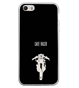 Fiobs Designer Back Case Cover for Apple iPhone 4 (Bike Motorcycle Cool Vehicle Swag Boy )