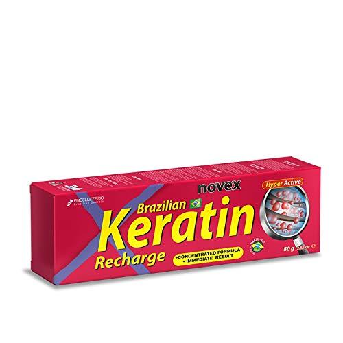 Novex Brasilianisches Keratin, wiederaufladbar, 80 g