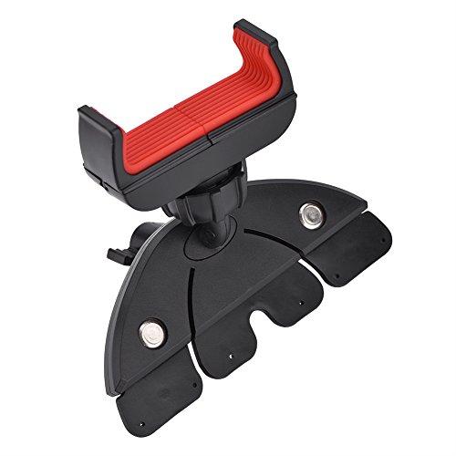 CD Slot Halterung für Kfz Halterung, 360 ° Roatating Auto Auto CD Dash Halterung für iPhone, GPS und andere Smartphones