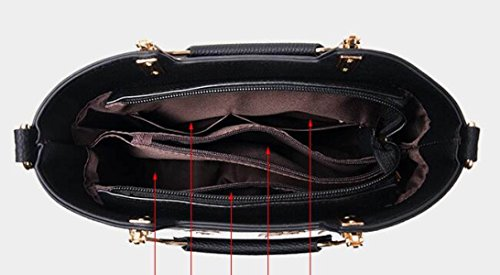 KYFW Stickerei-Handtaschen-Schulter-Beutel-elegante Stilvolle Einfache Koreanische Beiläufige Temperament-Handtaschen E
