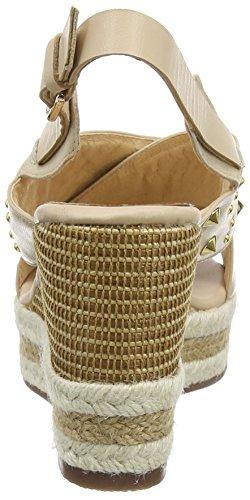 Giudecca Jycx15j12-1, Wedge sandales ouvertes femme beige (AD-2 Beige)