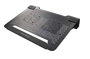 """Cooler Master Notepal U2 Refroidisseur pour PC Portable jusqu'à 17"""" 2 Ventilateurs 8 cm interchangeable Noir"""