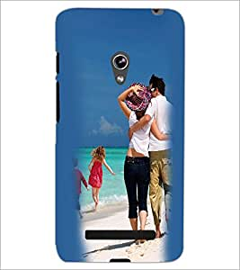 PrintDhaba Couple D-2452 Back Case Cover for ASUS ZENFONE 5 A501CG (Multi-Coloured)