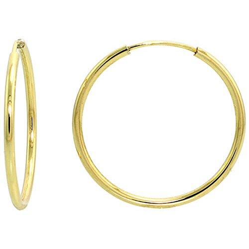 10ct-yellow-gold-thin-hoop-earrings-3-4-19mm-diameter