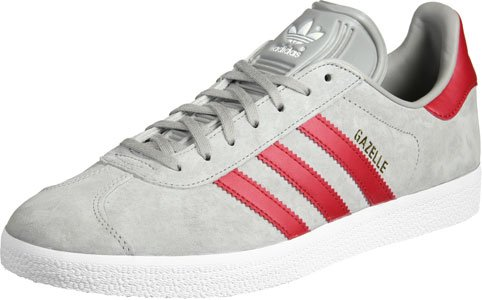 adidas Gazelle, Baskets Basses Mixte Adulte Gris