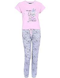 Pijama Rosa y Gris Campanilla Disney