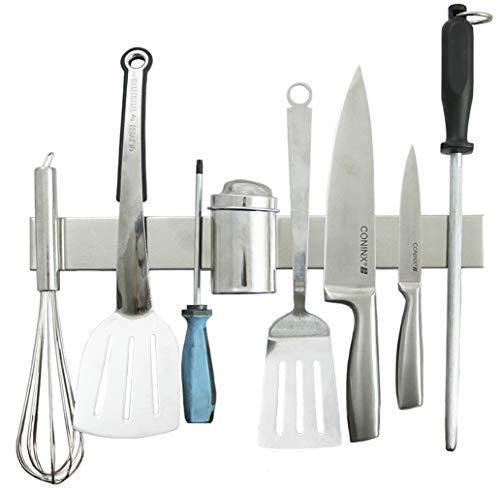 Edelstahl Messerhalter magnetisch/ Magnetleiste – 3 Jahre Garantie - 2