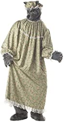 California Costumes Men's Wolf Granny Costume