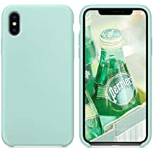 comment trouver bonne texture la meilleure attitude cover iphone x resistenti - Verde - Amazon.it