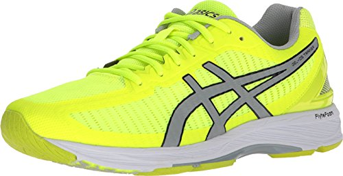 big sale 984f9 eb1cf ASICS Men's Gel-DS Trainer 23 Safety Yellow/Mid Grey/White 6 D US