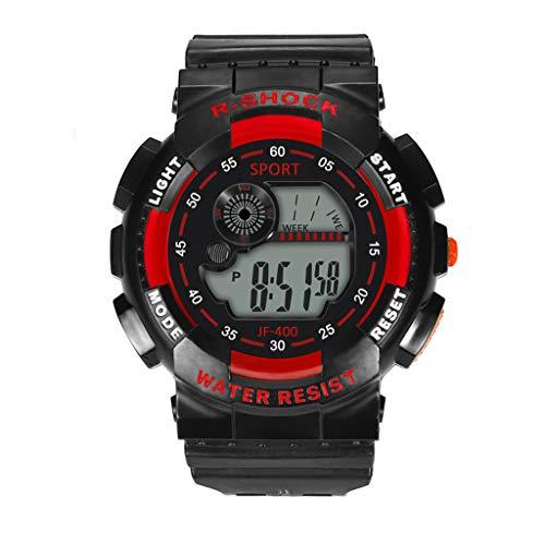 nisex-Armbanduhr Mode High-End Multi-Funktions 30M Sport wasserdichte elektronische Uhr ()