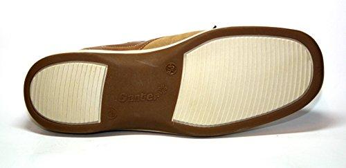 Ganter Gina-Vario 7-204972 Damen Schuhe Halbschuhe, Weite G Braun (sahara/camel)