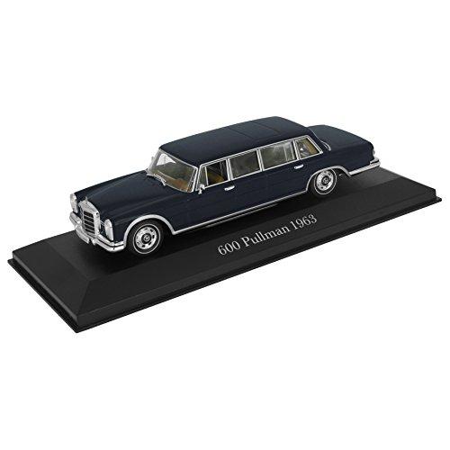 Réplica de coche Mercedes-Benz 600 Pullmann - 1963 (1:43) W100 W 100 - Azul
