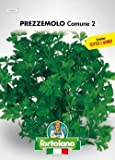 Sementi orticole di qualità l'ortolano in busta termosaldata (160 varietà) (PREZZEMOLO COMUNE 2)
