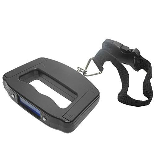YeahiBaby Portative Digitale Gepäckwaage mit Hintergrundbeleuchtungs-LCD-Display mit 50 kg Kapazität ohne Batterie