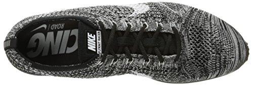 Nike Flyknit Racer, Scarpe da Corsa Uomo Bianco