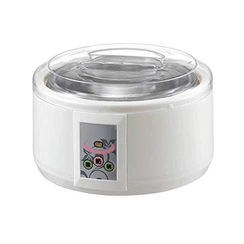 MáQuina De FermentacióN De Yogurt Hecho En Casa OperacióN Totalmente AutomáTica, FáCil De Usar, Forro De Acero Inoxidable De Gran Capacidad