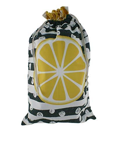 CAL FUSTER - Bolsa para el pan de tela estampada