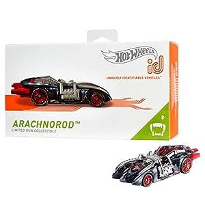 Mattel - Hot Wheels ID Vehículo de juguete,  coche Arachnorod , +8 años  ( FXB12)