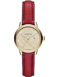 Ladies Burberry el clásico redondo reloj bu10102