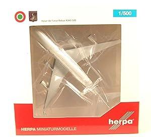 Herpa 530385Italian Air Force Airbus A340-500-31° stormo, ciam Pino AB-I de TALY, avión